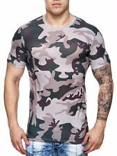 Mimetico T-Shirt Runthals Marrone Forze Armate Militare Air Force Mainstream