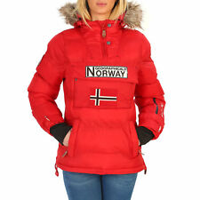 87349Geographical Norway Giacca Geographical Norway Donna Rosso 87349 Giacche Do