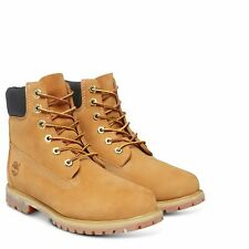 Timberland 10361 6in 6-Inch Premium Waterproof Womens Suede Boots Wheat Size