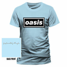 Oasis Logo Definitely Maby Back Stampa Gonna Unisex Taglie: M,L,XL,XXL Nuovo