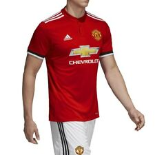 Maillot Manchester United Football Rouge Homme Adidas