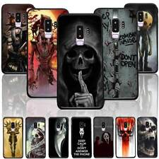 Cool Skull Phone Case Cover for iPhone X 6/7/8 Plus&Samsung Halloween Anti Drop