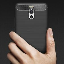 Cover Meizu M6 Note Carbon Design Antiurto Shockproof Espesor Frosted Case Navy