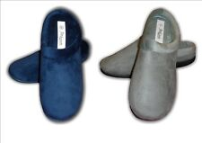 Ladies Girls New Mule Clog Slippers Faux Suede Memory Foam Size 3 - 8 (36-41)