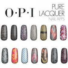 BRAND NEW - O.P.I Pure Lacquer Nail Apps - 16 Pre-Cut Strips  - various designs
