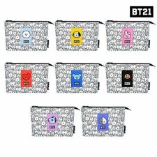 BTS BT21 Official Authentic Goods monopoly Mesh Pouch COOKY CHIMY TATA KOYA Etc