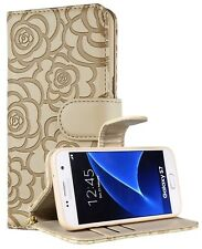 Luxury Wallet Leather Magnetic Flip Cover Case Bags For Samsung galaxy Phones