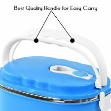 Portable Stainless Steel One Or Two Layer Tier Tiffin Lunch Box Food Container