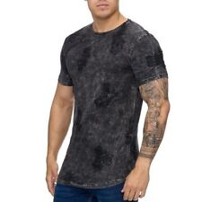 Extra Grande Camiseta Negra Destroyed Larga Black Runthals 91 Mainstream Moda