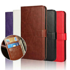 Leather Flip Cover Wallet Case Credit Card Holder For iPhone & Samsung Galaxy