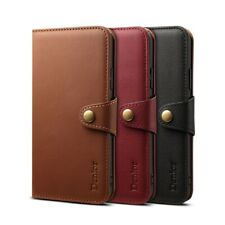 Luxury DENIOR Genuine LEATHER Wallet Stand Case Cover For iPhone X XR XS Max 7 8