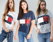 Tommy Hilfiger 90s Classic Flag T Shirt For Women's
