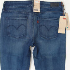 NEW Ladies Womens Levis DEMI CURVE SLIM Stretch Blue Jeans BNWT