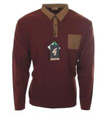 Bnwt Men's Gabicci Vintage Wool Suede Knitted Polo Shirt RRP£110 XL 2XL Jumper
