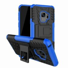 Hybrid Armor Shockproof Rugged Bumper Tough Stand Case Cover Samsung Galaxy S9