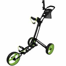 Ben Sayers 2018 Deluxe Three Wheel Easy Fold Golf Trolley