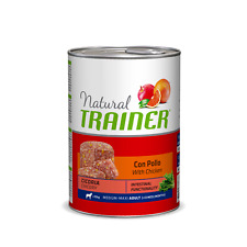 Natural Trainer - Adult Medium/Maxi con Pollo e Cicoria da 400gr