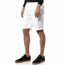 TOMMY Homme Bermuda Chino Blanc Crossby