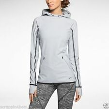 Nike Mujer Dri-Fit Luxe Obsessed Running Entrenamiento Sudadera con Capucha
