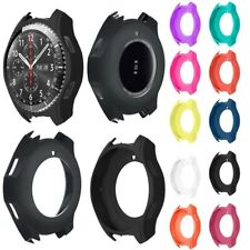 1x Luxury Silicone Strap Watch Band Case Cover For Samsung Gear S3 Frontier ES