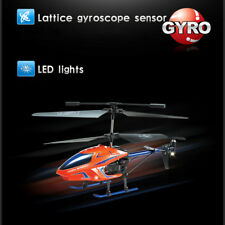 KOOME 3.5-Ch RC HELICOPTER WITH GYRO-CYAN Brushed Racing Giocattoli Regalo Kid