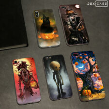 Halloween Skeleton Phone Case Cover For iPhone Xs Max 6/7/8+ &Samsung S8/S9 Plus