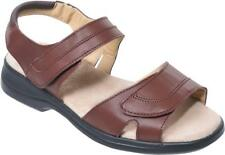 Cosyfeet Extra Roomy Cher Womens Sandals Nut 6E Fitting UK Sizes Available