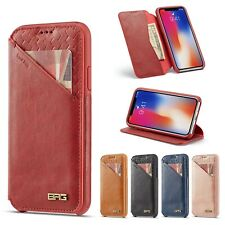 Luxury Leather Wallet Stand Magnetic Case Cover For iPhone X XR XS Max &7/8/Plus