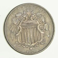 1867 Shield Nickel - Without Rays - Circulated *2974