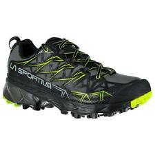 LA SPORTIVA AKYRA GTX SCARPA UOMO MOUNTAIN TRAIL RUNNING CARBON / APPLE GREEN