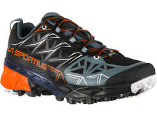 LA SPORTIVA AKYRA GTX SCARPA DONNA MOUNTAIN TRAIL RUNNING  NERO BLACK PUMPKIN