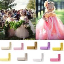 DIY Tulle Roll Spool Tutu Wedding Gifts Craft Party Decoration Fabric S5DY 02