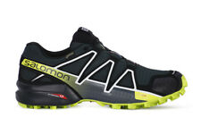 SALOMON SPEEDCROSS 4 GTX  SCARPA SPORT UOMO TRAIL RUNNING VERDE SCURO NERO LIME