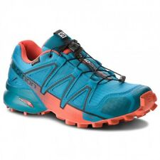 SALOMON SPEEDCROSS 4 GTX  SCARPA SPORT UOMO TRAIL RUNNING FJORD BLUE RED