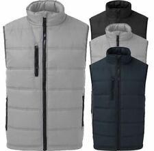 Mens Boys Padded Outdoor Quilted Jacket Warm Sleeveless Winter Casual Vest LOT
