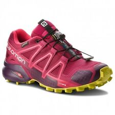 SALOMON SPEEDCROSS 4 GTX W SCARPA DONNA TRAIL RUNNING BEET RED PURPLE
