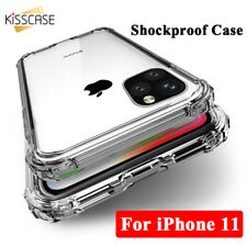 Shockproof Clear Soft Silicone TPU Case Cover For iPhone XR XS X 8 7 6 5 SE Plus