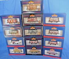 BACHMANN OO GAUGE EXCLUSIVE COLLECTORS CLUB LTD EDITION PO WAGONS. MINT BOXED
