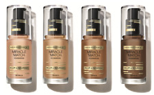 BRAND NEW - MAX FACTOR Miracle Match Foundation 30ml SEALED - various shades