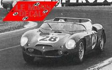 Calcas Ferrari 246SP Le Mans 1950 25 195S 1:32 1:24 1:43 1:18 slot 246 decals