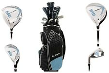 """""""NEW 2018"""" BEN SAYERS M8 LADIES YOUTH SKY BLUE COMPLETE GOLF SET - CART BAG"""