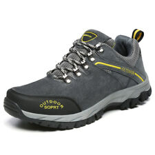 New Men's Hiking Shoes Outdoor Trail Trekking Sneakers Climbing Shoes Big Size