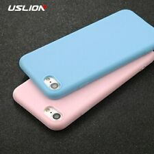 Ultra Thin Soft TPU Silicone Candy Pastel Case Cover iPhone XR XS X 8 7 6 5 Plus