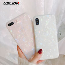 Mother of Pearl Shell TPU Silicone Case Cover For iPhone XR XS Max X 8 7 6 Plus