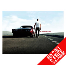 Fast And Furious Vin Diesel Auto Poster Druck A4 A3 Größe - Buy 2 = Jedem 2 Free