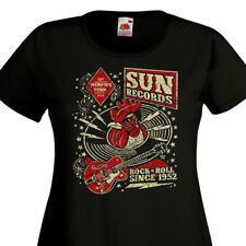 T-shirt femme SUN Records Rock'n'Roll Since 1952  Memphis Tennessee  Rockabilly