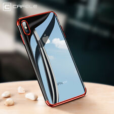 Luxury Soft TPU Glass Effect Shockproof Bumper Case Cover For iPhone XR XS Max X