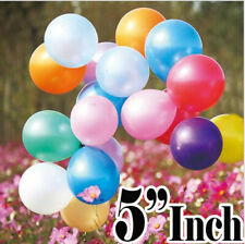 """5"""" Assorted Rainbow 6 Color Mix Latex Party Balloons Choose Pack Event Decor"""