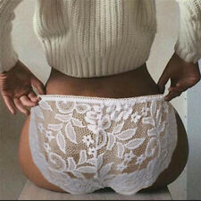 Womens Sexy Lace Underwear G-String S-XXL Brief Panties Lingerie (INT)