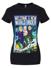 Welcome To The New World Order Women's Black T-shirt